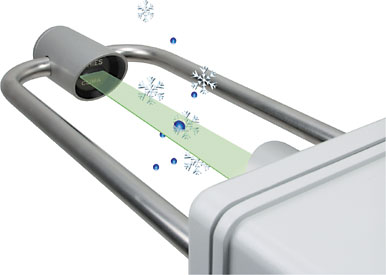 Cảm biến đo lượng mưa bằng laser