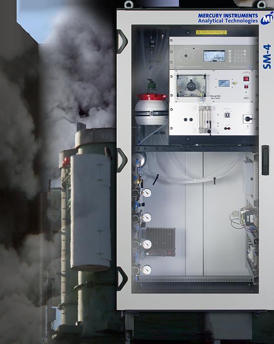 Hệ thống phân tích khí Thủy Ngân